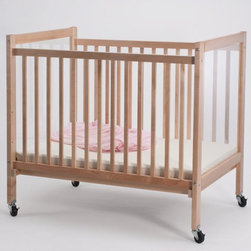 """Whitneybrothers - Whitney Brothers Infant Clearview Evacuation Crib W/ Lockable Ball Bearing Legs - Heavy duty crib with easy-roll 4"""" lockable ball-bearing fire drill casters and a metal brace that attaches to the  inside of the crib legs for complete support and durability.Dimension: 36 1/2"""" Long x18"""" High x23"""" deep.Weight: 26 lbs. GreenGuard Certified. Ships by ground from NH. Lifetime Warranty."""