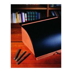 Progetti - Francesco Cigar Box - Cigars box, 4 drawers, 1 himidor drawer, 1 hygrometer, Made in peerwood, inside Cedarwood.