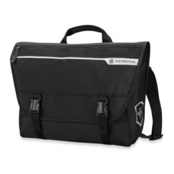 Victorinox - Victorinox CH-97 2.0 Laptop Messenger Bag - The perfect companion for the adventure of a lifetime! Lightweight with the capacity and durability to handle a fast-paced itinerary, each piece features roomy compartments, thoughtful organizational amenities, and the quality you expect from Victorinox.