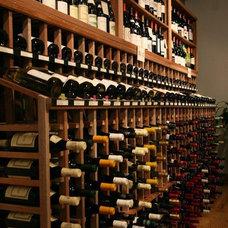 Modern Wine Cellar by WineRacks.com