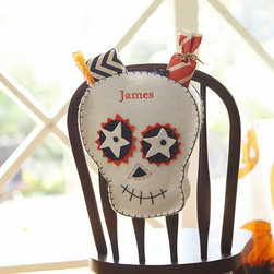 Skeleton Chairbacker - Personalized chair-back decorations are perfect for the kids.