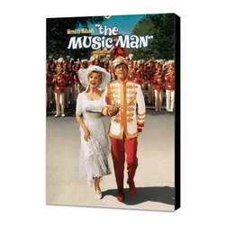 The Music Man 27 x 40 Movie Poster - Style B - Museum Wrapped Canvas - The Music Man 27 x 40 Movie Poster - Style B - Museum Wrapped Canvas. Amazing movie poster, comes ready to hang, stretched on canvas museum wrap canvas with color sides. Cast: Ron Howard