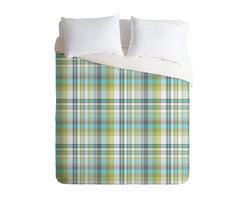 DENY Designs - Wendy Kendall Carousel Duvet Cover - Turn your basic, boring down comforter into the super stylish focal point of your bedroom. Our Luxe Duvet is made from a heavy-weight luxurious woven polyester with a 50% cotton/50% polyester cream bottom. It also includes a hidden zipper with interior corner ties to secure your comforter. it's comfy, fade-resistant, and custom printed for each and every customer.