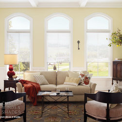 Good Housekeeping Sheer Horizontal Shades - Good Housekeeping Sheer Horizontal Shades Light Filtering