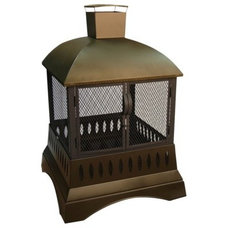 Traditional Outdoor Fireplaces by Target