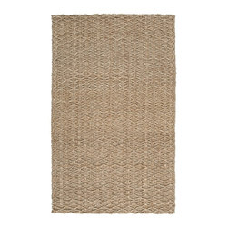 Country Living - Country Living Country Jutes Rug X-85-8202JTC - Another inspired ensemble from Country Living, the Country Jutes Collection exemplifies the essence of casual style. Hand-woven from all natural jute in monochromatic shades of beige, each rug combines fibers to create a variety of patterns that exude a simple elegance ideal for traditional to transitional interiors.