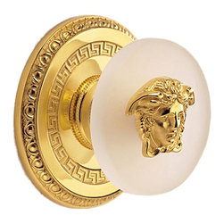 Versace - Versace Classic Gold Paired Clothes Knobs - Versace Paired Clothes Knobs