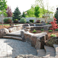 Traditional  by Sterling Landscape Company