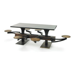 Vintage Lunch Room Table -