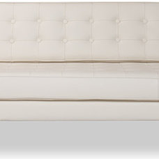Modern Sofas Chelsea 3-Seat Beige Leather Couch