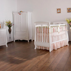 NERVA Collection - Nerva baby setting with traditional crib.