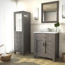 Contemporary Bathroom Vanities And Sink Consoles by Studio Bathe