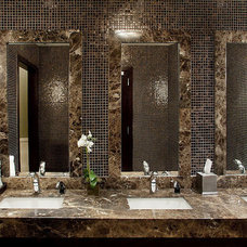 Modern Vanity Tops And Side Splashes by CUMAR Marble and Granite