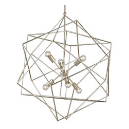 Aerial Chandelier by Currey and Company -