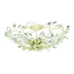 Vaxcel Lighting - Vaxcel Lighting C0024 Jardin 4 Light Flush Mount Ceiling Fixture - Features: