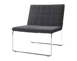 B&T Design - Flu Lounge Chair, Gazebo Eco-Leather Green - 1831 - Flu Lounge Chair