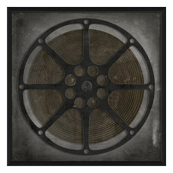 The Artwork Factory - 'Film Reel 7' Print - Flaunt your reel deal film-buff style. This museum quality print on high resolution, acid-free paper makes a striking statement in your decor.