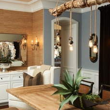 Eclectic Dining Room by Intimate Living Interiors