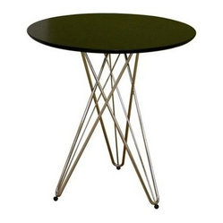 Wholesale Interiors Daimen Black Round Table