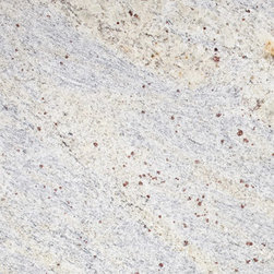 marblesystems - Kashmir White Polished Granite Tiles - Sometimes all you need is a little consistency. Enter the Kashmir white polished granite tile. Its high polish finish offers consistent shine and those colorful specks are spread evenly through every tile. And that means a sleek, uniform look that's just right for your contemporary bathroom.