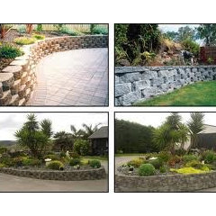 modern  Retaining Walls Design