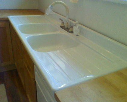 Traditional Kitchen Sinks by J&S Tub & Tile Refinishing