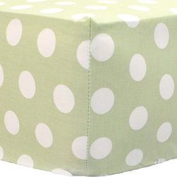 My Baby Sam - My Baby Sam Pixie Baby Green Dot Sheet - CRSH166 - Shop for Sheets from Hayneedle.com! Your little darling will look so precious on the My Baby Sam Pixie Baby Green Dot Sheet. The sweet green and white polka dot pattern easily fits her crib mattress. The durable cotton construction is machine-washable for super easy care. Part of the Pink Pixie Baby collection.About My Baby Sam Inc.My Baby Sam was dreamed up by mom-of-three Tori Swaim in 2001. My Baby Sam provides a fun and diverse selection of baby bedding and kids room decor at an affordable price. With their bedding nursery and kids decor letters and baby gifts My Baby Sam products will help you create a dreamy nursery or your child s first big-kid room.