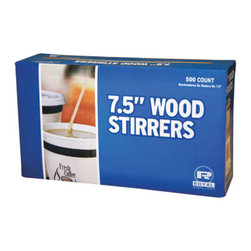 "ROYAL PAPER PRODUCTS - WOOD COFF STIRRER 5.5I N 10/1M - Excellent eco-friendly alternative to petroleum based plastic stirrers. Made from all natural, white birchwood, 100% biodegradable.. . . . 5-1/2"" Length. 51/2-in. Square 1,000 10 10,000. . . Wood Coffee Stirrers. Dimensions: Height: 0.5, Length: 1, Width: 0.875. Country of Origin: CN   CAT: Breakroom Beverage Service Coffee Stirrers"