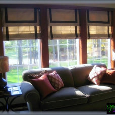 Modern Roman Blinds by Germani Decor