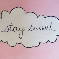 """Stay Sweet"" (Original) By Kirsten Rae Simonsen - This Is An Artwork From A Series Called Stay Sweet That Was Partly Inspired By My Junior High And High School Yearbooks. All Of The Statements Were Written By Girls. The Writings Capture A Sincere Desire To Hold Onto What They Perceive As Pure, Authentic, And Meaningful."