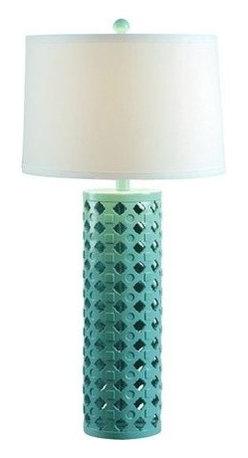 Kenroy Home - Kenroy Home 32272 Marrakesh 1 Light Table Lamp - Features: