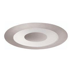 "Juno Lighting - Juno 441 4"" Adjustable Frosted Lens with Clear Center Trim, 441w-Sc - 4"" Adjustable Frosted Lens with Clear Center Trim for use with select Juno housings."