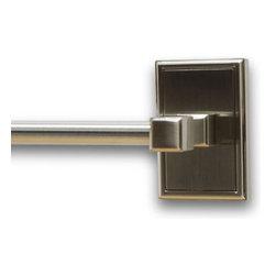 "Residential Essentials - Satin Nickel Hamilton 24"" Towel Bar(RE2524SN) - Satin Nickel Hamilton 24"" Towel Bar"