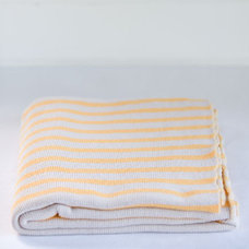 Contemporary Blankets by Father Rabbit