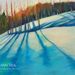Ann Rea - An Artist's Diary of Deer Valley, Utah - Memories of Deer Valley, Utah, delivered to your door.