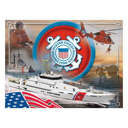 Holland Bar Stool - Holland Bar Stool CnvsCstGrd Coast Guard Printed Canvas - CnvsCstGrd Coast Guard Printed Canvas belongs to Military Collection by Holland Bar Stool The perfect way to show support for your troops, our Printed Canvas displays a collage of images that will fill you with pride for our miliary. With it's simple but elegant design, colors burst off the canvas and create an eyecatching piece ideal for your office, garage, or any room of the house. Whether purchasing as a gift or for yourself, you can take satisfaction knowing you're buying a Printed Canvas that is proudly Made in the USA by Holland Bar Stool Company, Holland, MI. Wall Panel (1)
