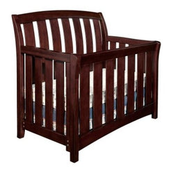 Brookline Convertible Crib Collection - Chocolate Mist