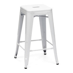 Marius Counter Stool, White