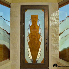 Front Doors by Coyote Glass Design