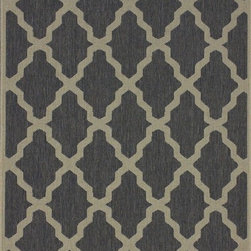 Nu Loom - Indoor/Outdoor Traditional 9'x12' Rectangle Gray Area Rug - The Traditional area rug Collection offers an affordable assortment of Indoor/Outdoor stylings. Traditional features a blend of natural Gray color. Machine Made of 100% Polypropylene the Traditional Collection is an intriguing compliment to any decor.