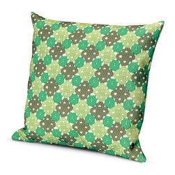 Missoni Home - Missoni Home | Onemo Outdoor Pillow 24x24 - Design by Rosita Missoni, 2013.