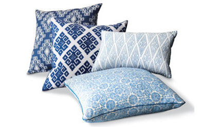 Contemporary Decorative Pillows by Neiman Marcus