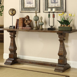 Coast To Coast - Pine Wood Console Table - 46224 - Set includes: One (1) console table