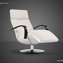 CINEAK Sienna Luxury Home Theater Seats - The SIENNA recliner presents an innovative and new way of ergonomic thinking. In the reclined position, the angles of the chair are attuned to the 'zero gravity position', the natural position of the body in weightless state. Result: a completely relaxed and comfortable position.