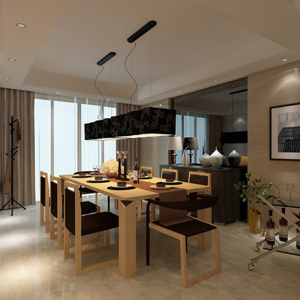 Modern Dining Room by Limitless