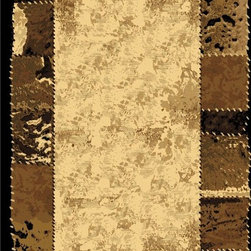 LA Rugs - Contemporary Melange 5'x8' Rectangle Multi Color Area Rug - The Melange area rug Collection offers an affordable assortment of Contemporary stylings. Melange features a blend of natural Multi Color color. Machine Made of 100% Polypropylene the Melange Collection is an intriguing compliment to any decor.