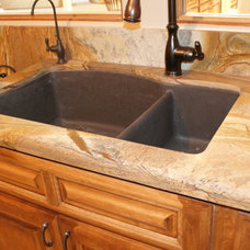 Traditional Kitchen Countertops by Accent Interiors