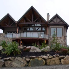 Traditional Exterior by Choice Construction