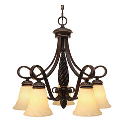 Torbellino 5 Light Nook Chandelier