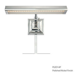"WAC Lighting - WAC Lighting PL-LED14P-27 LED Picture Lights Series Single-Light 14"" Portable LE - WAC Lighting PL-LED14P-27 Features:"